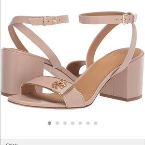 Tory Burch Gold/Nude Sandal - Size 10